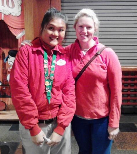 My friend, Ting, her her DTD work jacket.