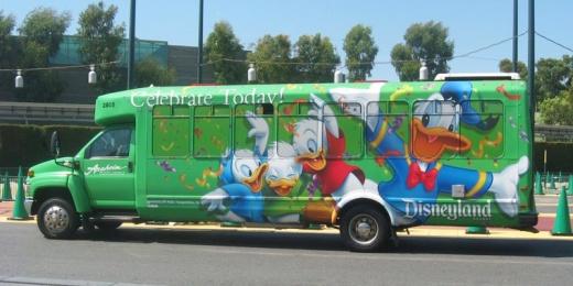 Anaheim Resort Transit bus
