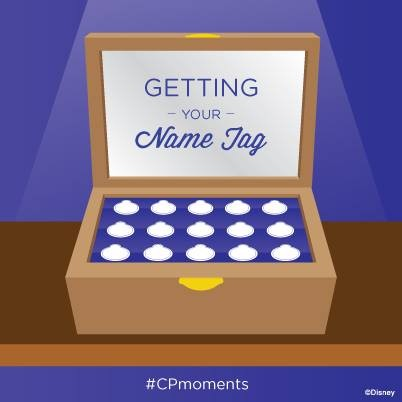 CP Moment Getting Your Name Tag