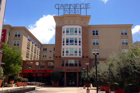 Carnegie Plaza - Home to 260 Disneyland CPs.