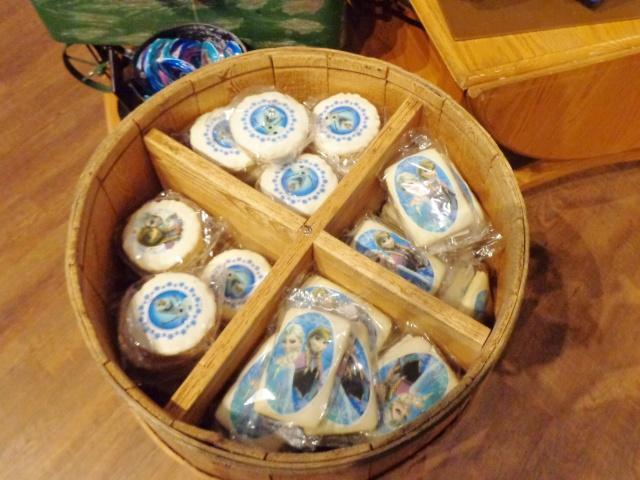Frozen rice krispie cookies