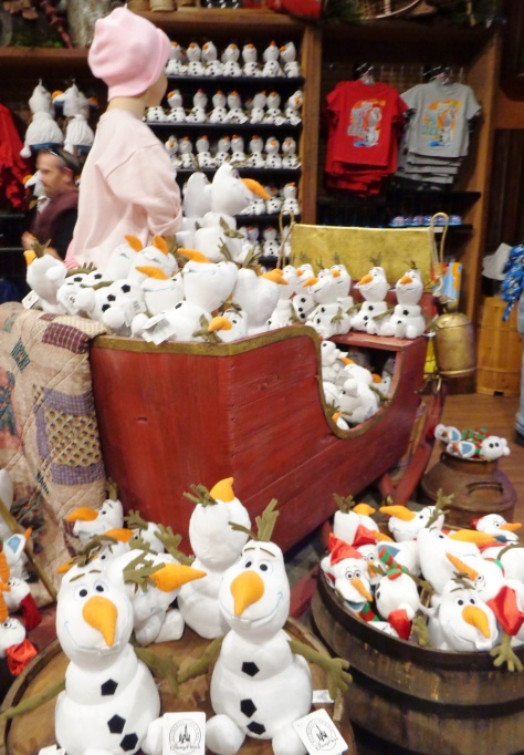 Olaf's as far as the eye can see...