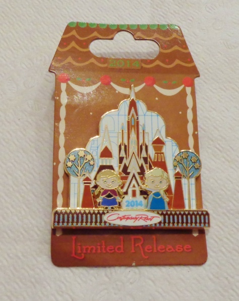 2014 CR Gingerbread pin