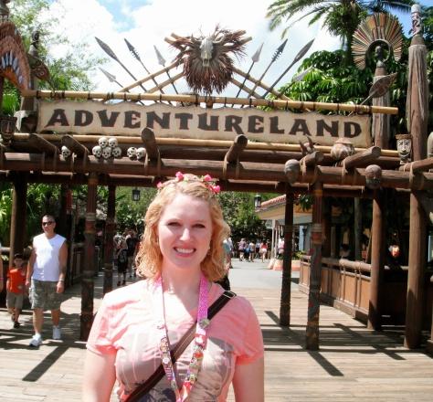 Adventureland is our favorite land!
