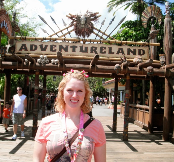 Adventureland is our favorite land!