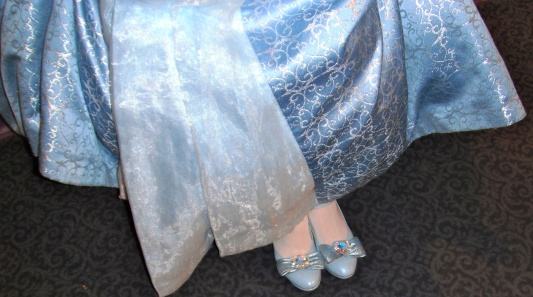 Her royal shoes.