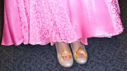 Her royal shoes