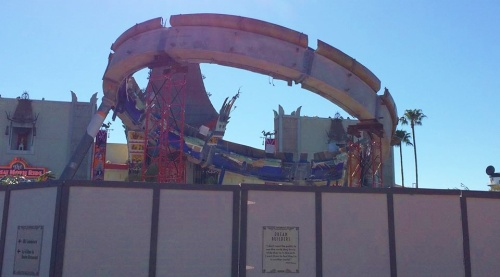 February 21, 2015:  You can see the Earful Tower now!