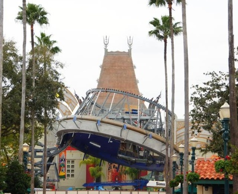 February 5, 2015:  Can see the Chinese Theater now.