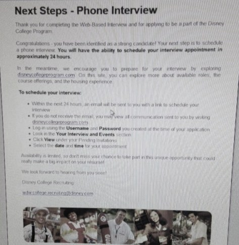 Interview to my PI (phone interview).
