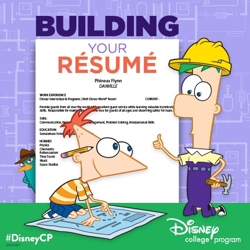 disney resume tips elly and caroline s magical moments