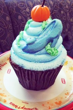 The Cinderella Cupcake