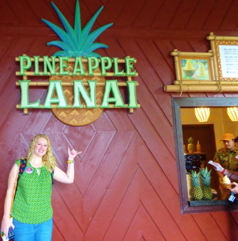 Pineapple Lanai is now open.