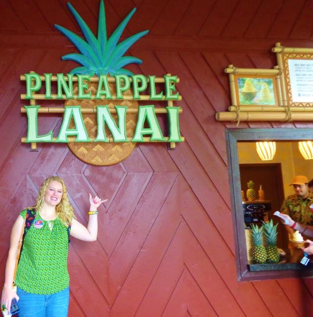 Pineapple Lanai is now open.