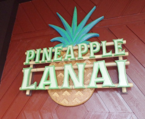 Pineapple Lanai, new home of Dole Whip.