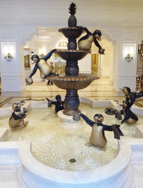 Mary Poppins fountain