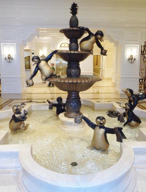 Mary Poppins fountain