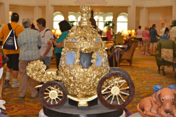 Cinderella carriage egg.