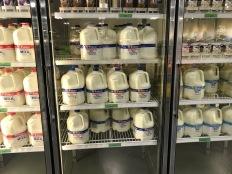 Lots of milk, fat free & 2%