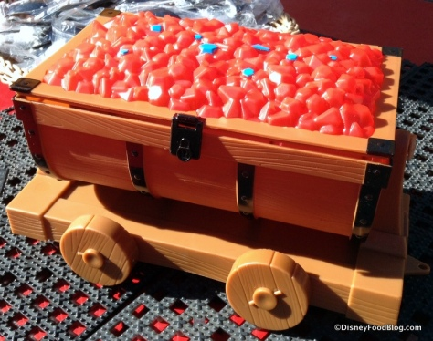 This one is a beauty, and just like the cars on the Seven Dwarfs Mine Train Roller Coaster, the body of the cart swings from side to side.AND if you have more than one, you can hitch the carts together to build your own train. $12.50