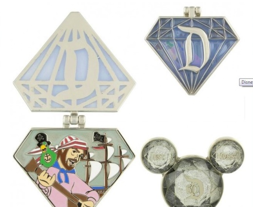 Annual Passholder exclusive pins.