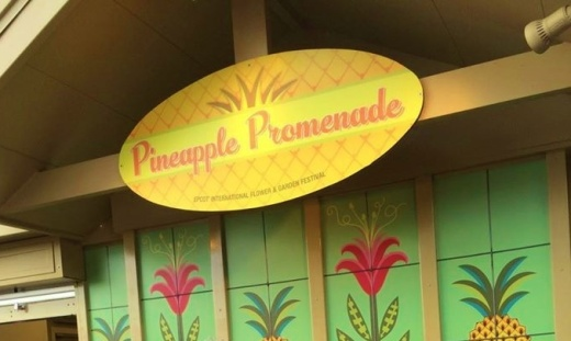 Pineapple Promenade at Epcot