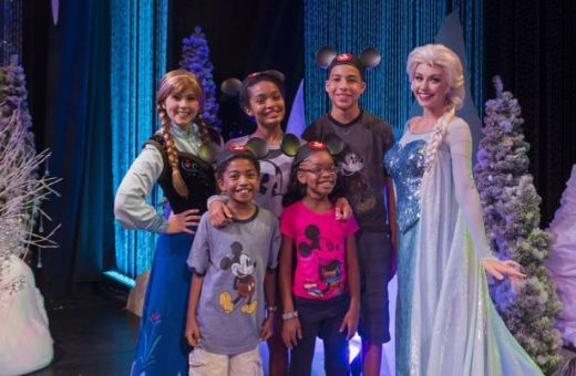 With Queen Elsa and Princess Anna, Coolest Summer Ever