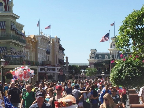 Main Street USA, Easter Week 2015