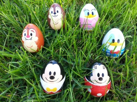 Egg prizes from Disneyland.