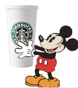 Starbucks + Disney = Happiness!