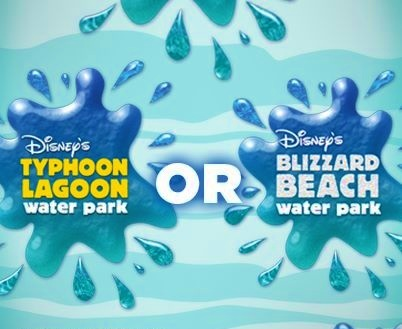 Which water park do you prefer, Typhoon Lagoon or Blizzard Beach?? Our vote: Typhoon Lagoon!