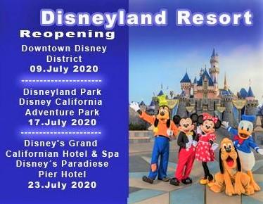 Reopening disneyland