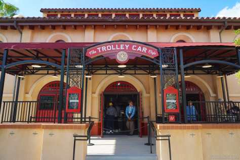 Trolley Car Cafe Starbucks