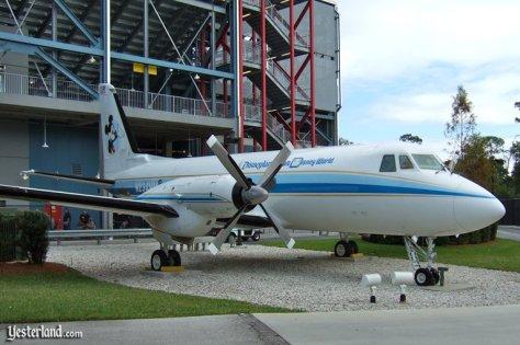 Walt's company plane