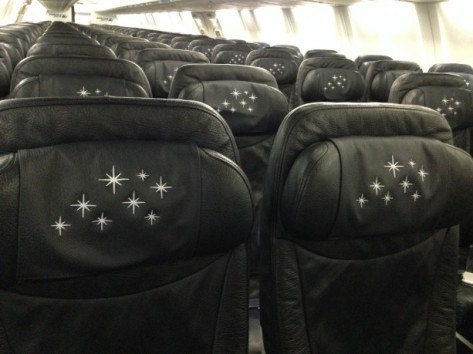 Even the seats are sprinkled with pixie dust!