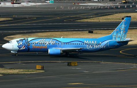 Genie's Make a Wish plane