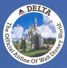 Delta's WDW logo