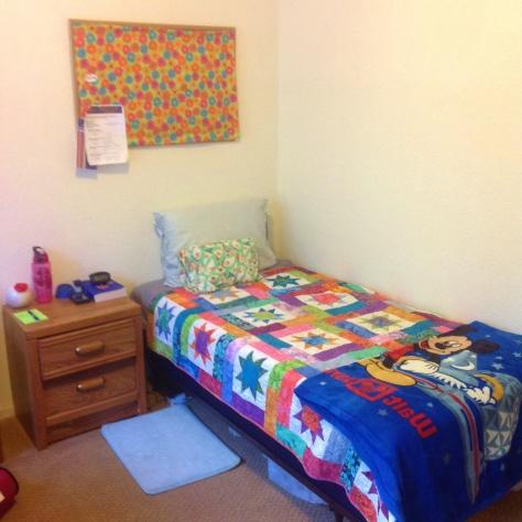 My bed (bedroom #3)