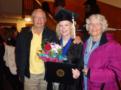 My grandparents came out from PA for my graduation.