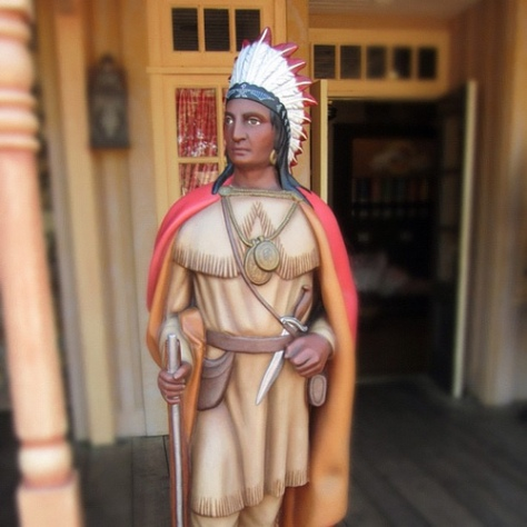 Big Chief Pipum at Frontierland
