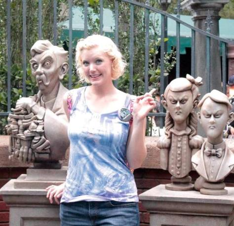 Go on the Haunted Mansion ride at least once a week? Check!!!