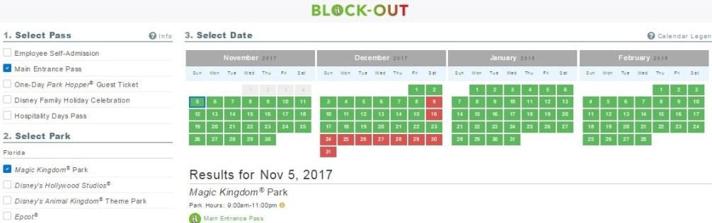 Disneyland cast member blackout dates in Sydney