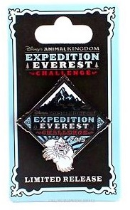 2015 Run Disney Expedition Everest Challenge Disney pin.  It sold out in March, now on ebay for $25.