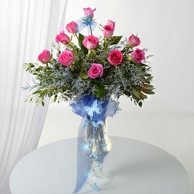 Cinderella's Enchanted Rose Bouquet
