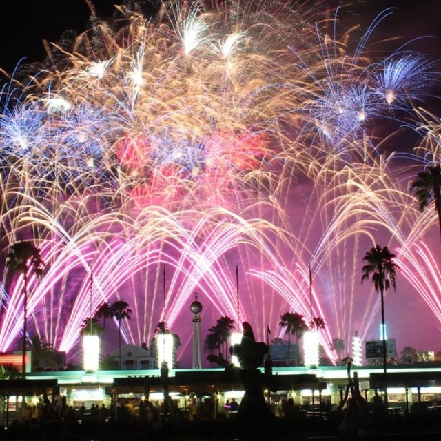 July 4th fireworks at DHS