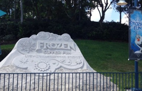 Frozen stuff everywhere!