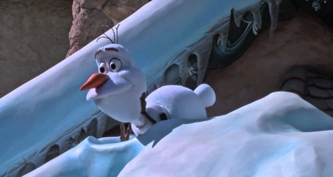 Olaf has a song to sing too.