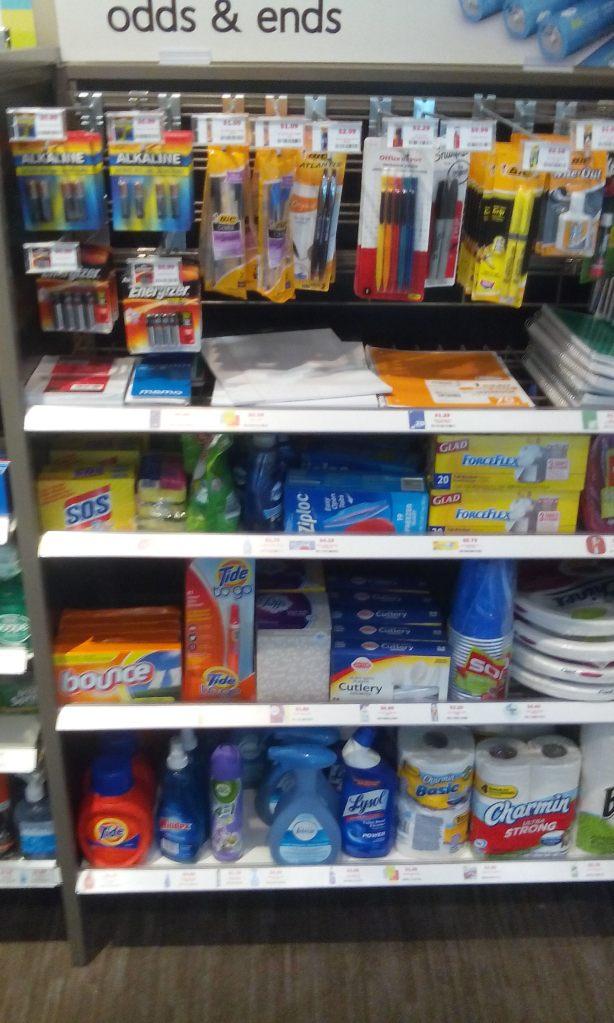 Paper items, school supplies