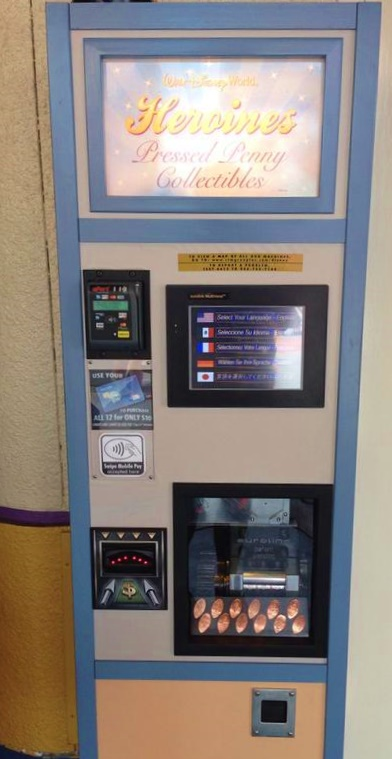 The digital machine takes credit cards, Apple Pay and US bills.