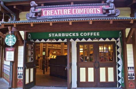 Starbucks Creature Comforts at DAK